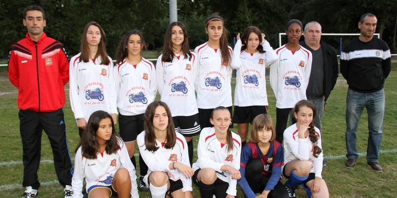 U14 Féminines - Severin Kerthe & Armando Monteiro- 2015-2016