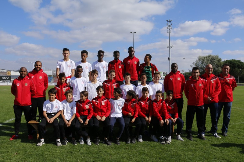 U15 - Parrains : Kandili, Hatime, Cissé, Fataki