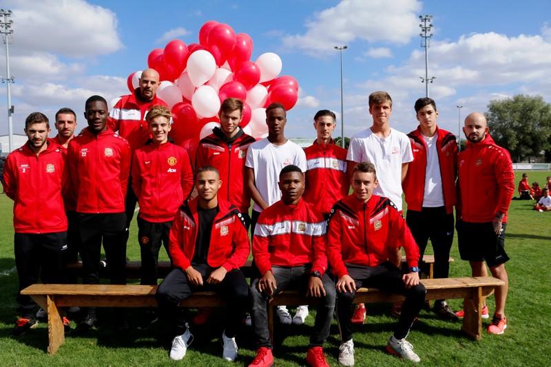 U19 - Parrains : Fauque et Rivière